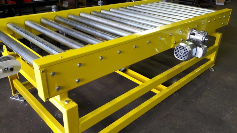 powered-roller-conveyor-assembly-line - Powercon Handling Systems